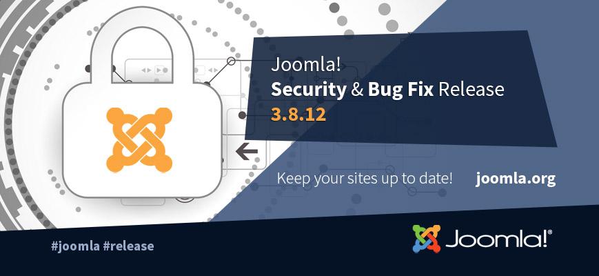 Joomla 3.8.12