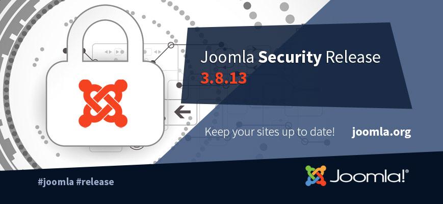 Joomla 3.8.13
