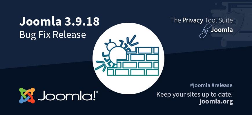 Joomla 3.9.18